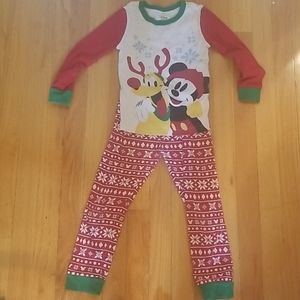 Disney Store w piece Mickey Mouse Pajama Set